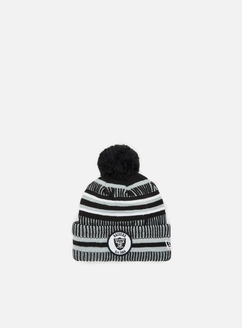 Beanies New Era ONF19 Sport Knit HM Beanie Oakland Raiders