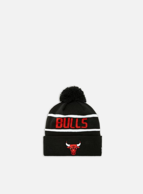 Cuffie New Era OTC  Booble Knit Beanie Chicago Bulls
