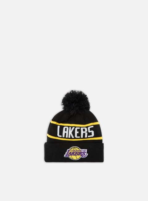 Cuffie New Era OTC  Booble Knit Beanie LA Lakers