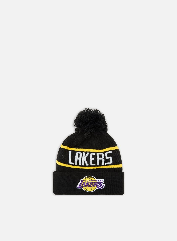 New Era OTC  Booble Knit Beanie LA Lakers