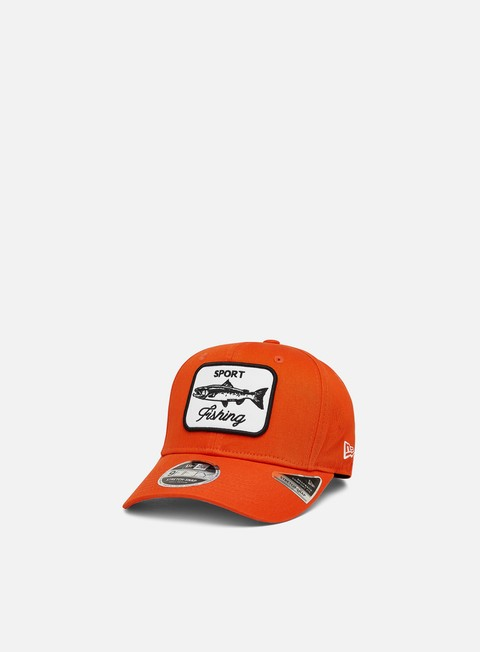 Outlet e Saldi Cappellini Visiera Curva New Era Outdoors 9Fifty Stretch Snapback