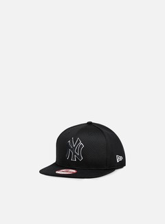 New Era - Outline Mesh Snapback NY Yankees, Black/Black 1