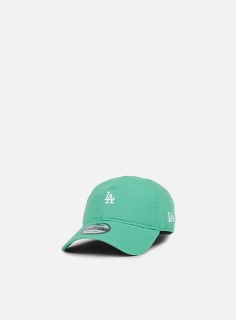 cappellini new era pastel micro 9twenty strapback la dodgers clear emerald