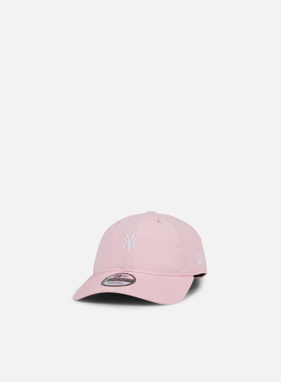 New Era - Pastel Micro 9Twenty Strapback NY Yankees, Pink
