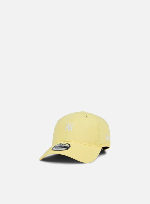 cappellini new era pastel micro 9twenty strapback ny yankees yellow