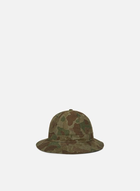 Outlet e Saldi Cappellini Bucket New Era Premium Camo Explorer New Era Bucket