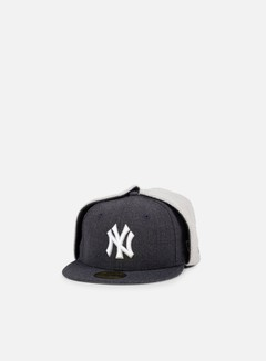 New Era - Premium Dog Ear NY Yankees, Heather Navy/Grey