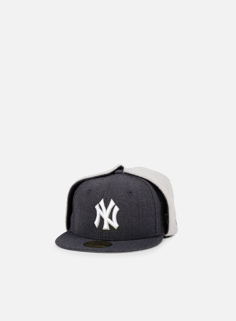 cappellini new era premium dog ear ny yankees heather navy grey