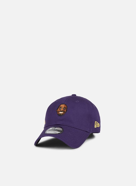 Outlet e Saldi Cappellini Visiera Curva New Era Primary Head LA Lakers Bryant