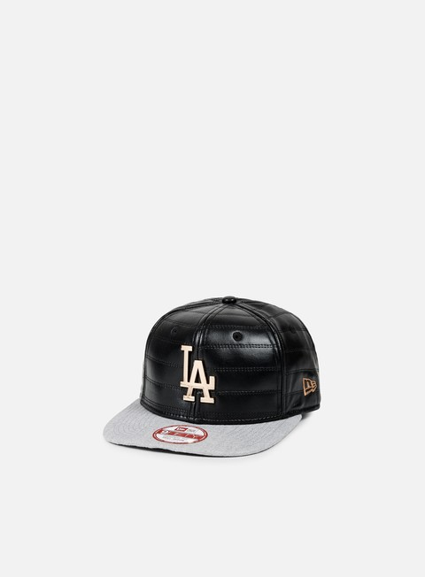 cappellini new era quilted crown snapback la dodgers black bronze