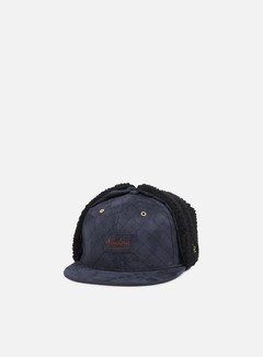 New Era - Quilted Suede Dog Ear, Navy 1