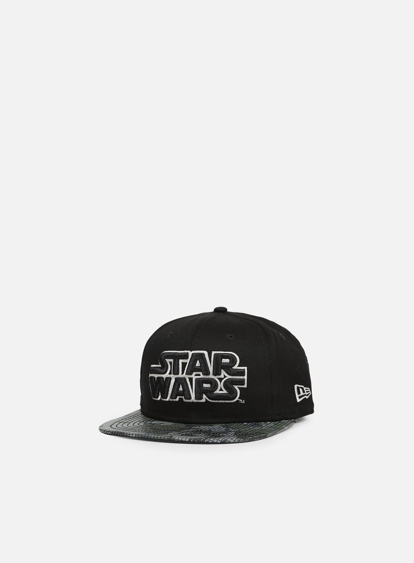 New Era - Reflect Camo Snapback Star Wars, Black/Silver