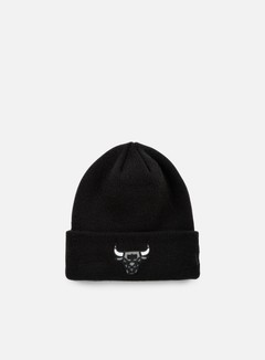 New Era - Reflective Pack Knit Beanie Chicago Bulls, Black 1