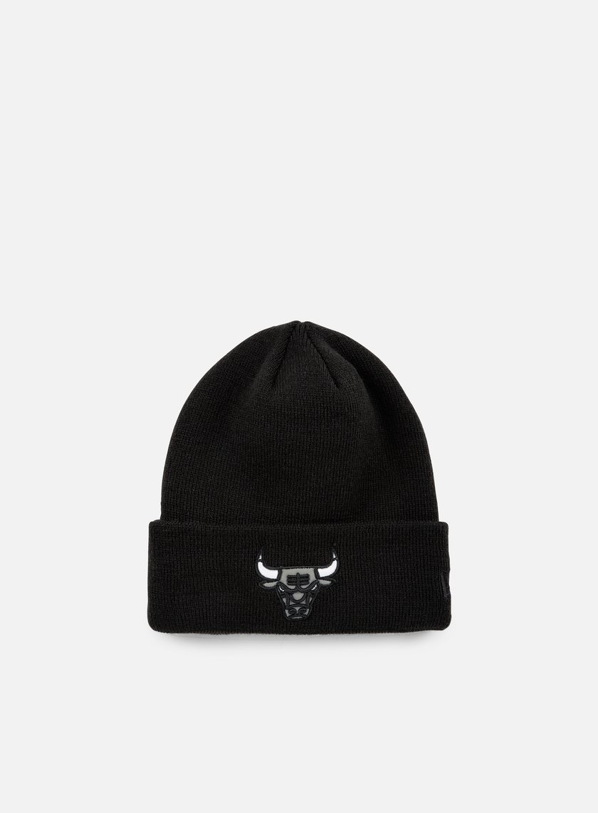 New Era - Reflective Pack Knit Beanie Chicago Bulls, Black