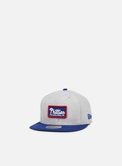 New Era - Retro Patch Snapback Philadelphia Phillies, Grey/Team Colors 1