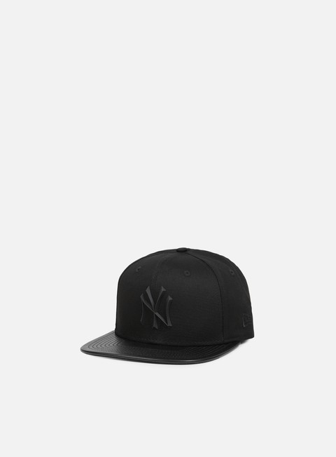 cappellini new era rubber prime snapback ny yankees black black