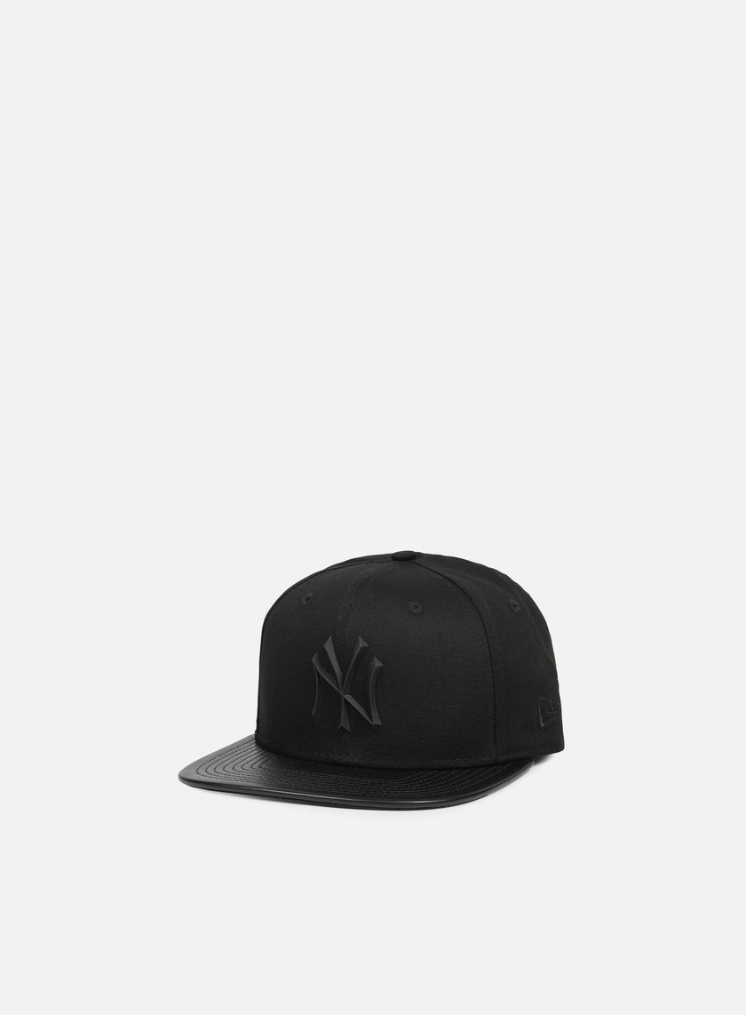 New Era - Rubber Prime Snapback NY Yankees, Black/Black