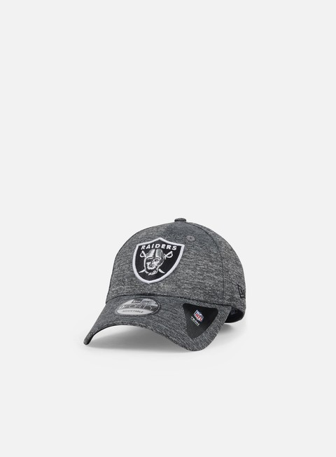 cappellini new era shadow tech 9forty strapback oakland raiders grey heather