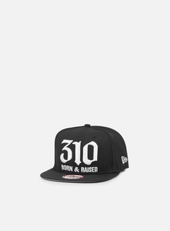 New Era - So Cal Area Code Snapback 310, Black 1