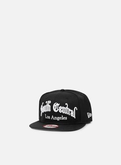 New Era - So Cal Old English Snapback South Central, Black 1