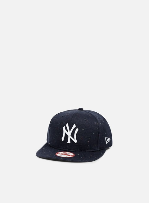 cappellini new era speckled snapback ny yankees navy white