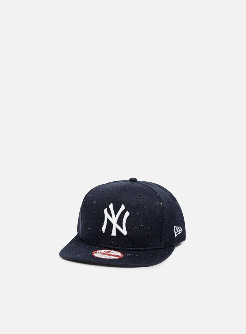 New Era - Speckled Snapback NY Yankees, Navy/White