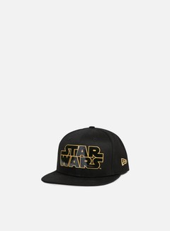 New Era - Star Wars TPU Word Snapback, Black/Gold 1