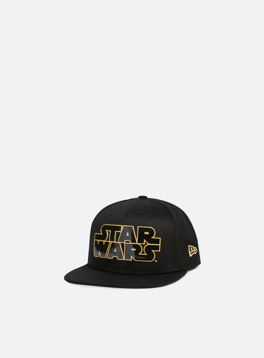 New Era - Star Wars TPU Word Snapback, Black/Gold