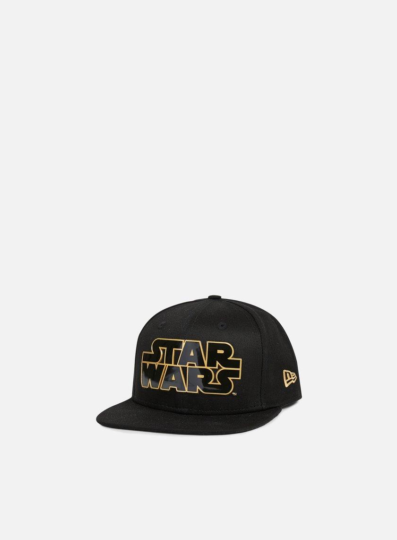 New Era - Star Wars TPU Word Snapback, Black/Gold