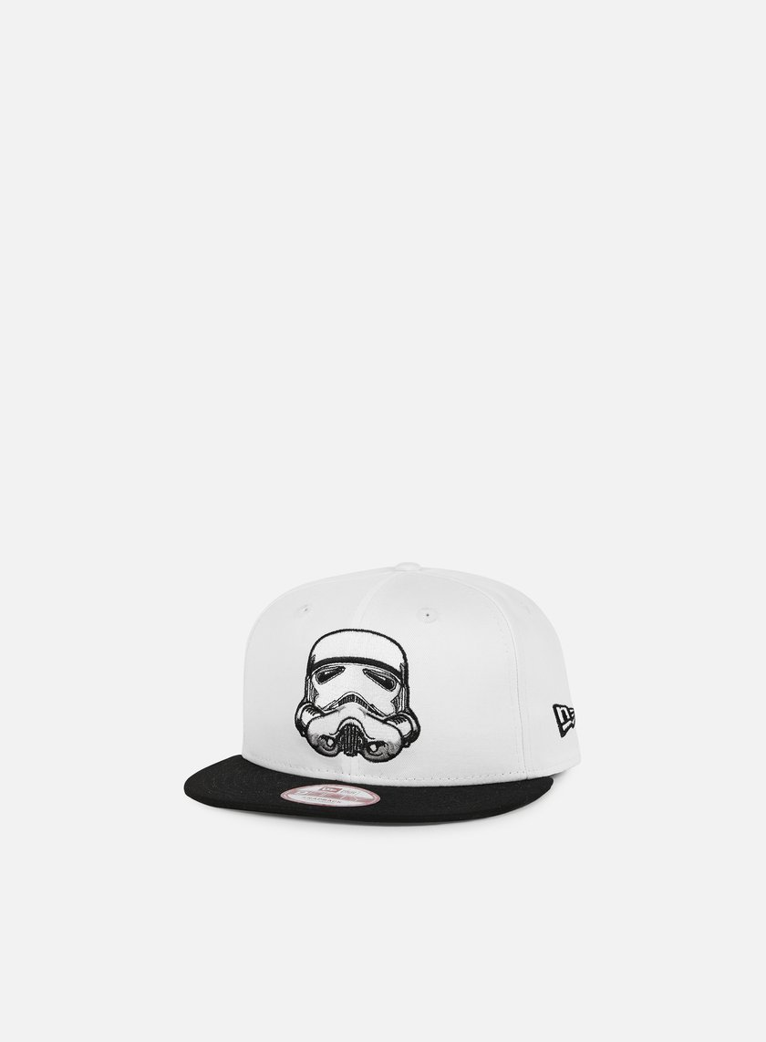 New Era - Stormtrooper Snapback, White/Black