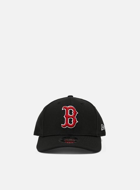 Curved Brim Caps New Era Stretch 9Fifty Snapback Boston Red Sox