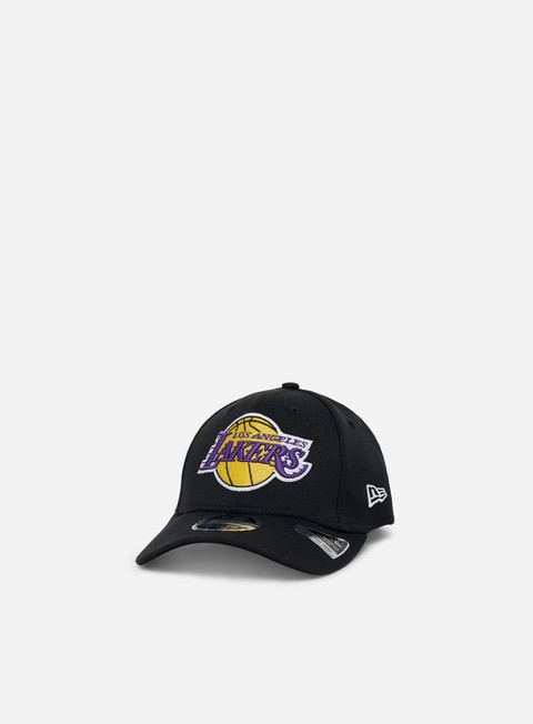 Outlet e Saldi Cappellini Visiera Curva New Era Stretch Snap 9Fifty LA Lakers