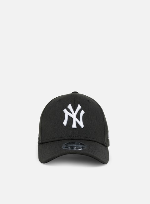 Curved Brim Caps New Era Stretch Snap 9Fifty NY Yankees