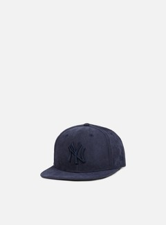 New Era - Suede Leather Snapback NY Yankees, Navy/Navy 1