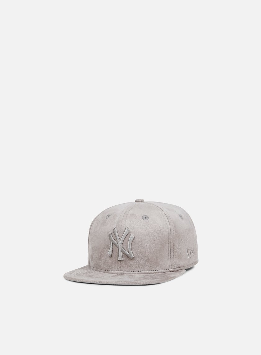 New Era - Suede Tone Snapback NY Yankees, Grey