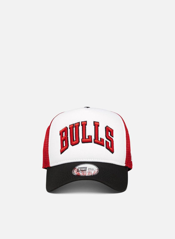 New Era Team Arch Trucker Chicago Bulls