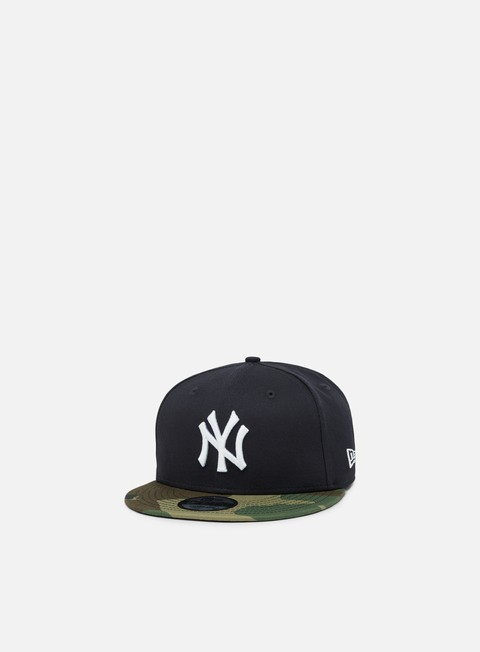 cappellini new era team camo 9fifty snapback new york yankees navy camo