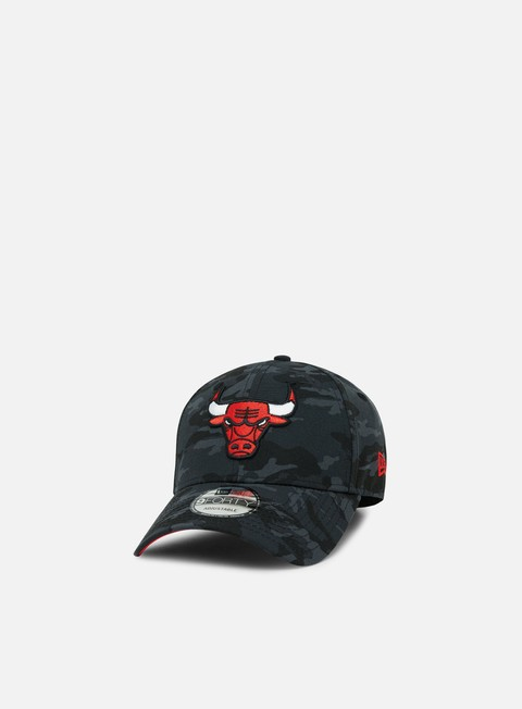 Curved Brim Caps New Era Team Camo 9Forty Chicago Bulls