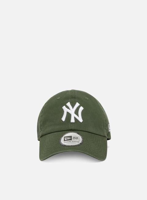 Outlet e Saldi Cappellini Visiera Curva New Era Team Casual Classic Strapback NY Yankees
