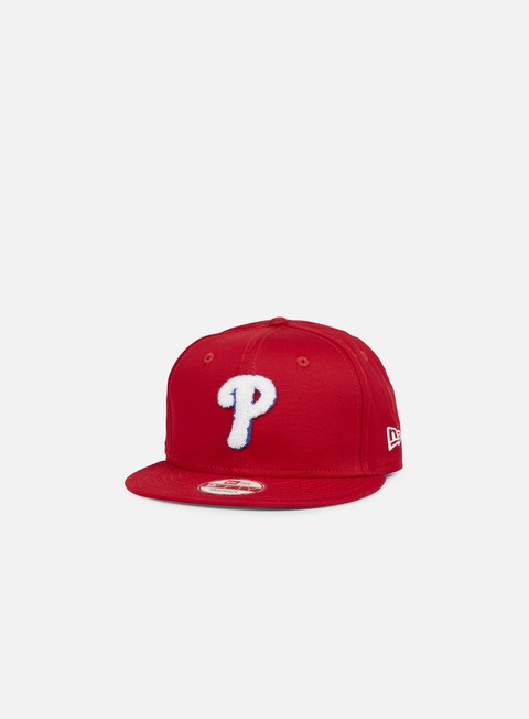 Outlet e Saldi Cappellini Snapback New Era Team Chenille Snapback Philadelphia Phillies