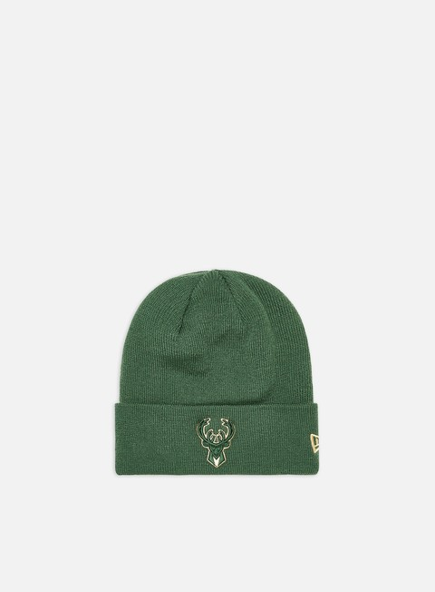Cuffie New Era Team Color Out Line Knit Beanie Milwaukee Bucks