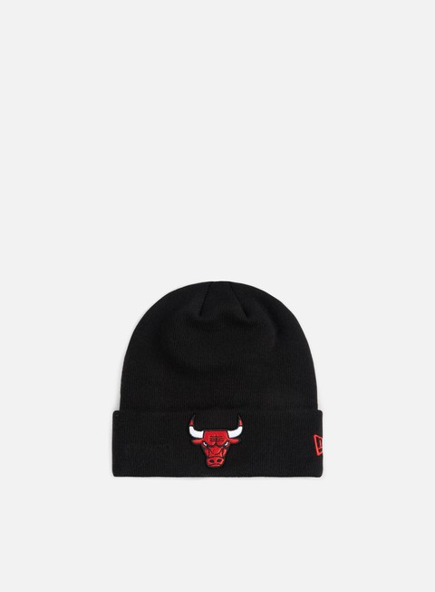 cappellini new era team essential cuff beanie chicago bulls team colors