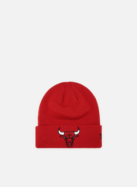 New Era Team Essential Cuff Knit Beanie Chicago Bulls