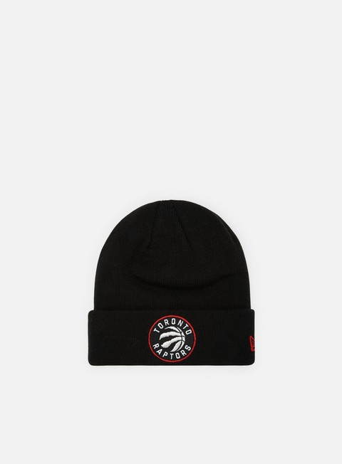 Outlet e Saldi Cuffie New Era Team Essential Cuff Knit Beanie Toronto Raptors