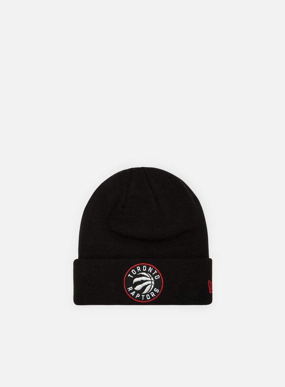 New Era Team Essential Cuff Knit Beanie Toronto Raptors