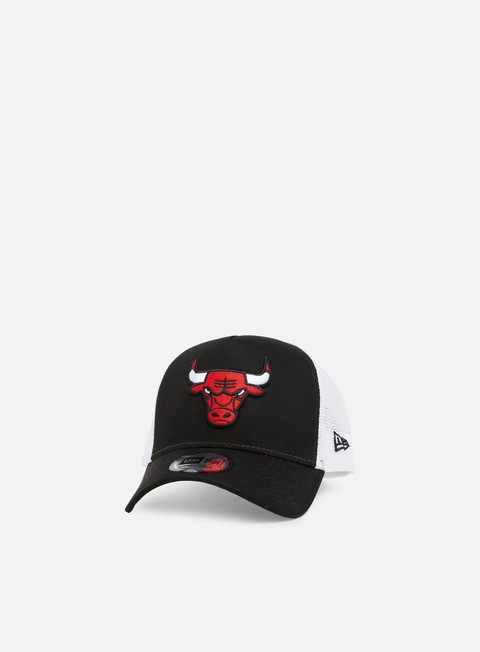 cappellini new era team essential trucker chicago bulls team colors