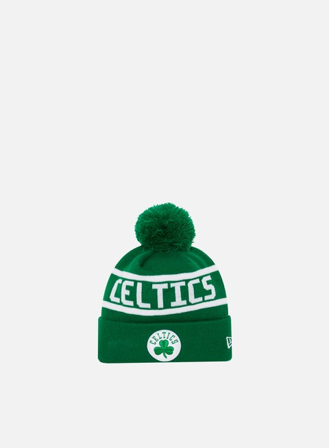 Cuffie New Era Team Jake Bobble Cuff Knit Beanie Boston Celtics