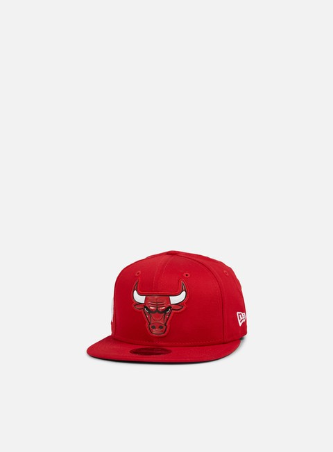 New Era Team Logo Weld Snapback Chicago Bulls