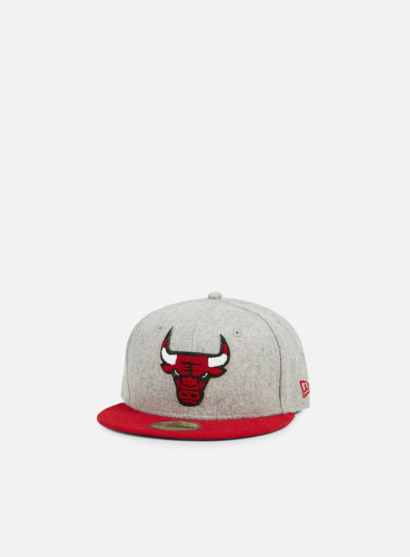 New Era - Team Melton Chicago Bulls, Grey/Team Colors