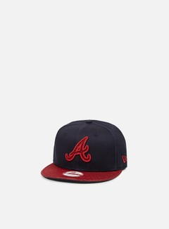 New Era - Team Mesh Snapback Atlanta Braves, Team Colors 1